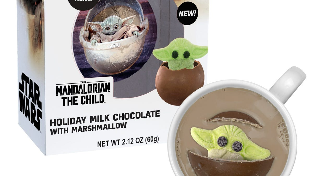 A Baby Yoda hot cocoa bomb is now for sale.