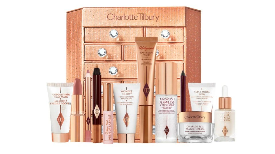 Charlotte Tilbury Charlotte's Bejewled Chest of Beauty Treasures