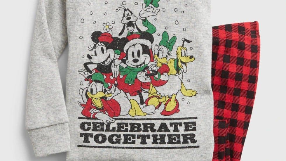 babyGap Disney Mickey Mouse Celebrate Pajama Set
