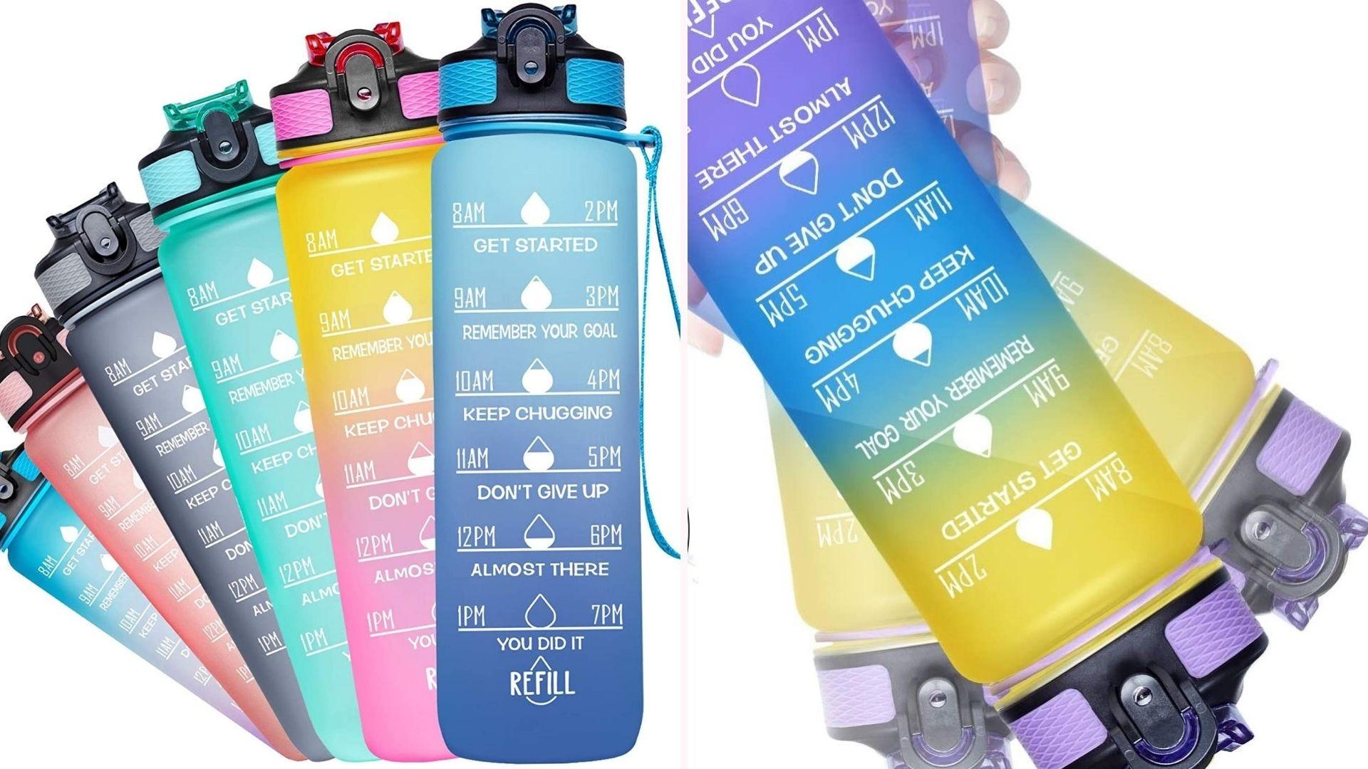 Venture Pal Motivational Water Bottles.