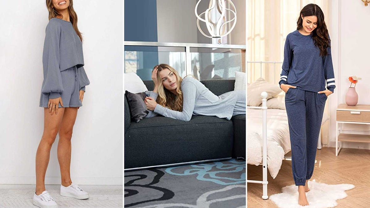 Examples of comfortable lounge wear.