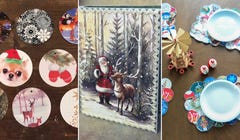 13 Crafty Things to Do with All Those Christmas Cards You Got in the Mail