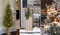 16 Outdoor Christmas Decorations That Don't Require a Ladder