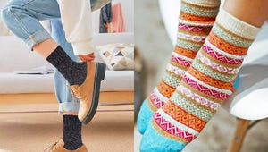 Keep Your Feet Warm with These Women's Wool Socks