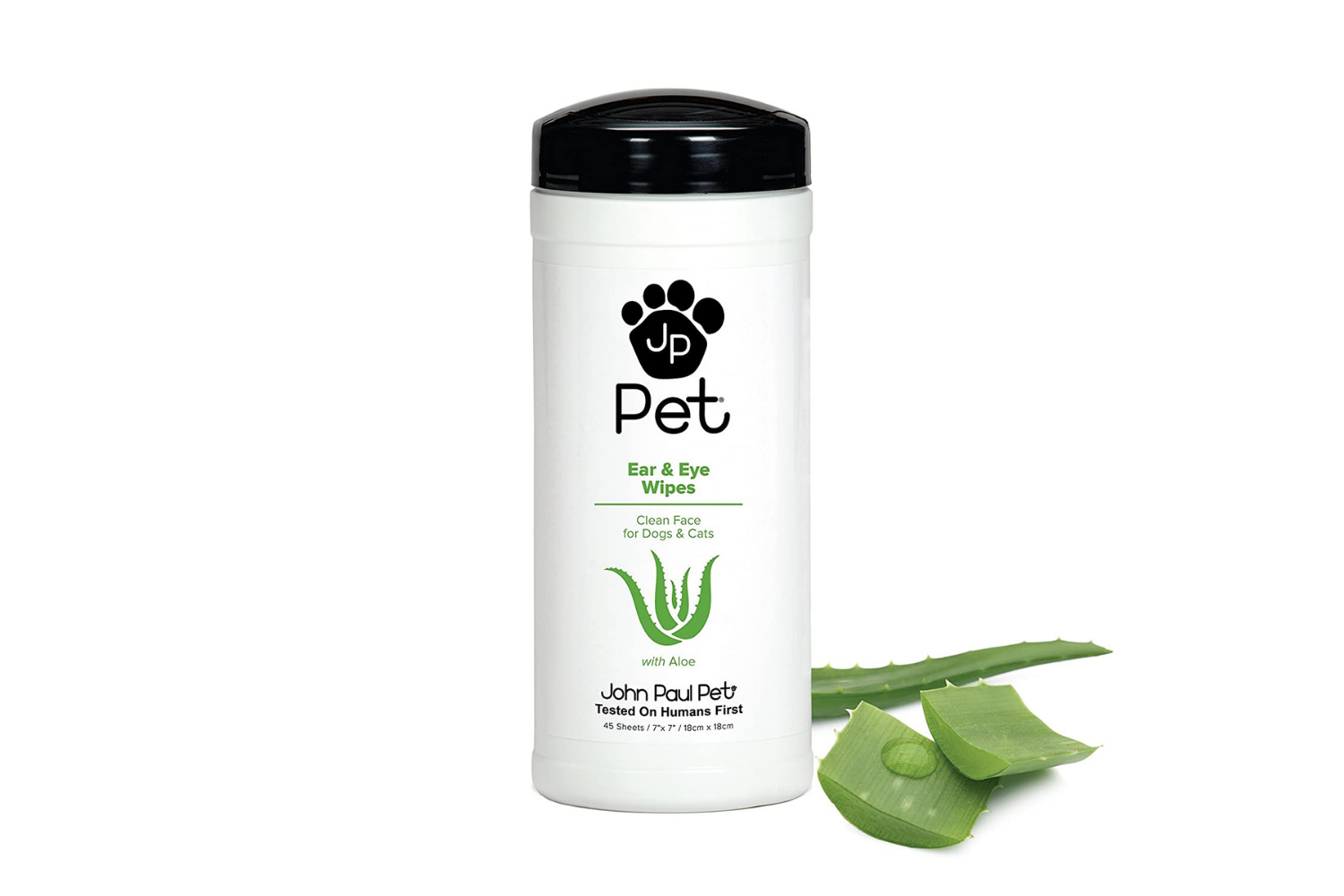 pet ear and eye wipes