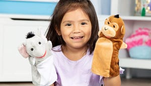 Keep Your Child Entertained with These Hand Puppets