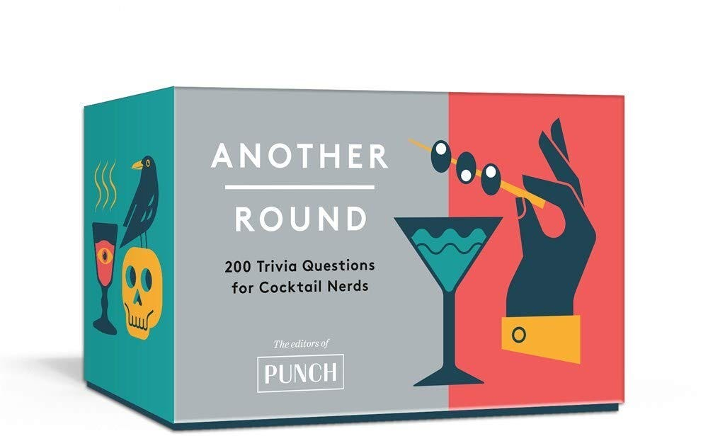 The Another Round trivia game box.