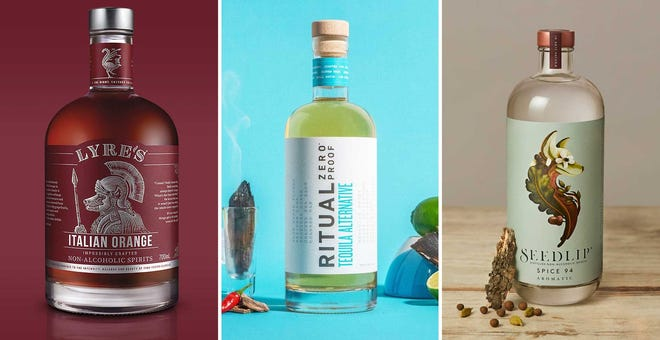 These 11 Non-Alcoholic Spirits Are Big On Flavor