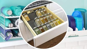 Tidy Up Your Kitchen with These 12 Handy Organizers