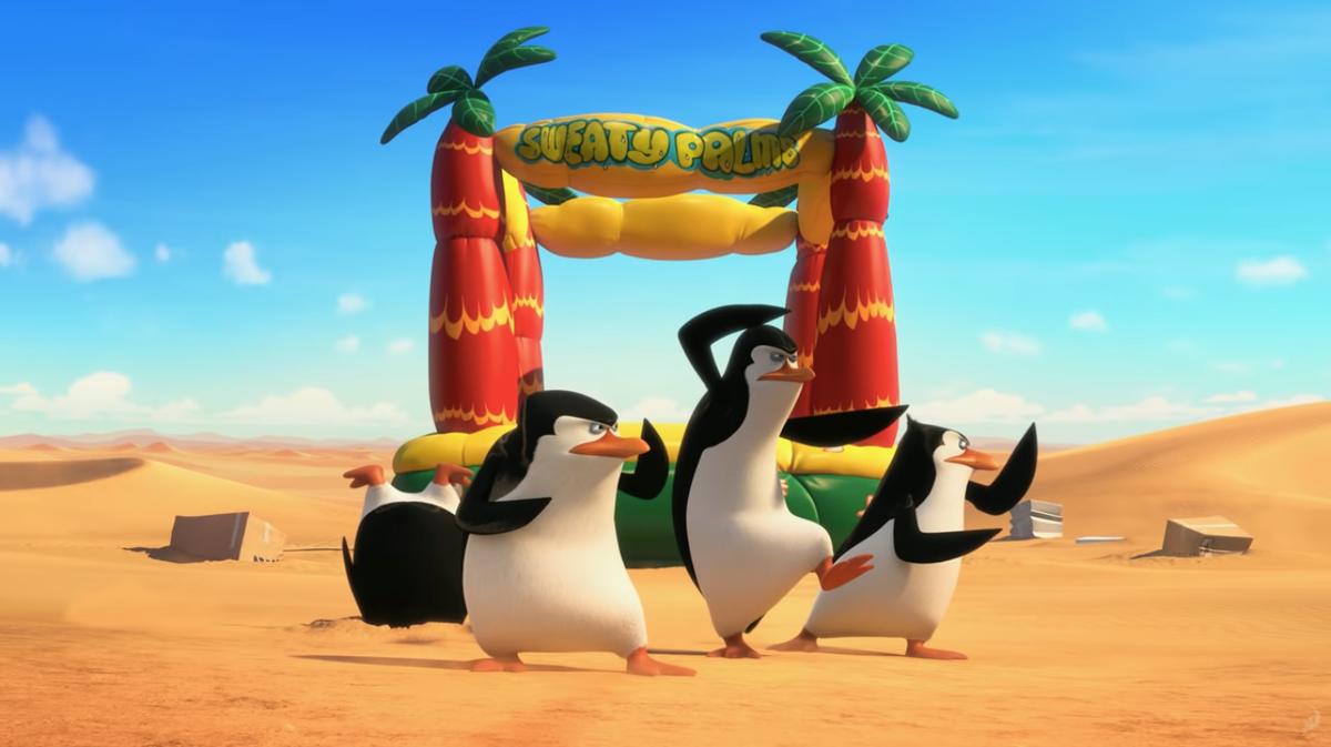 Dreamworks' Penguins of Madagascar comes to Netflix.