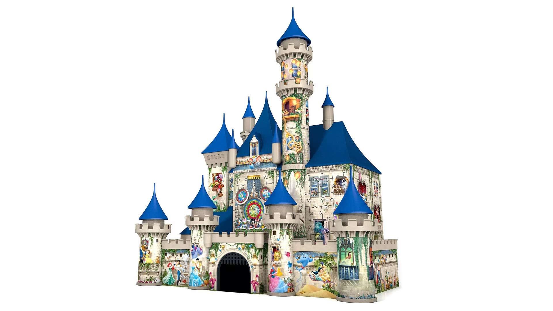 The Disney Castle 3D puzzle box.