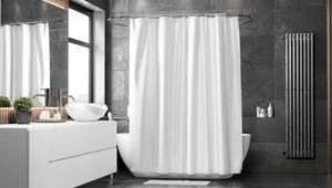 The Best White Shower Curtains