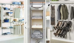 Unstuff That Closet with These Handy Organizing Solutions
