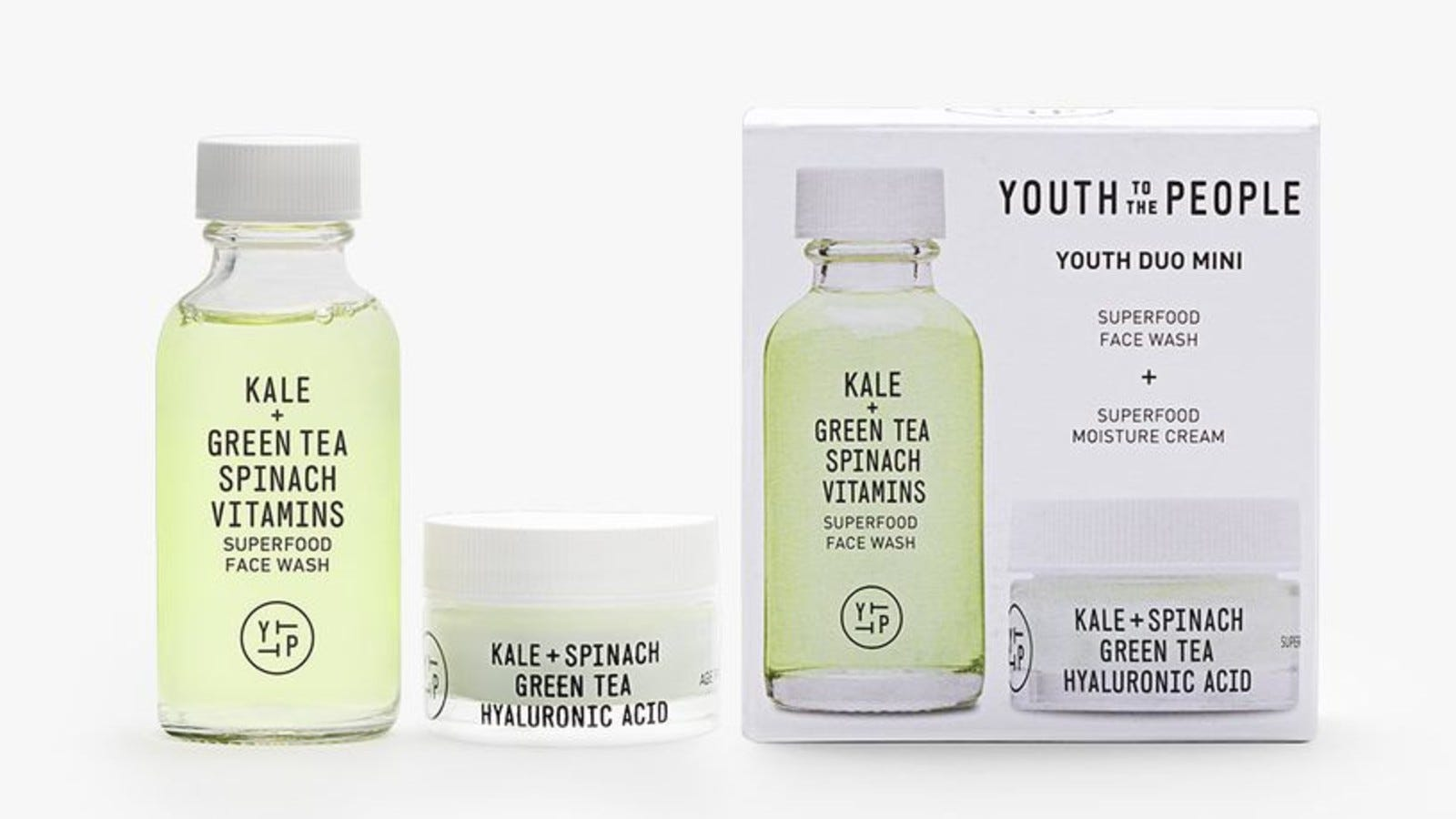 Youth To The People skincare products.