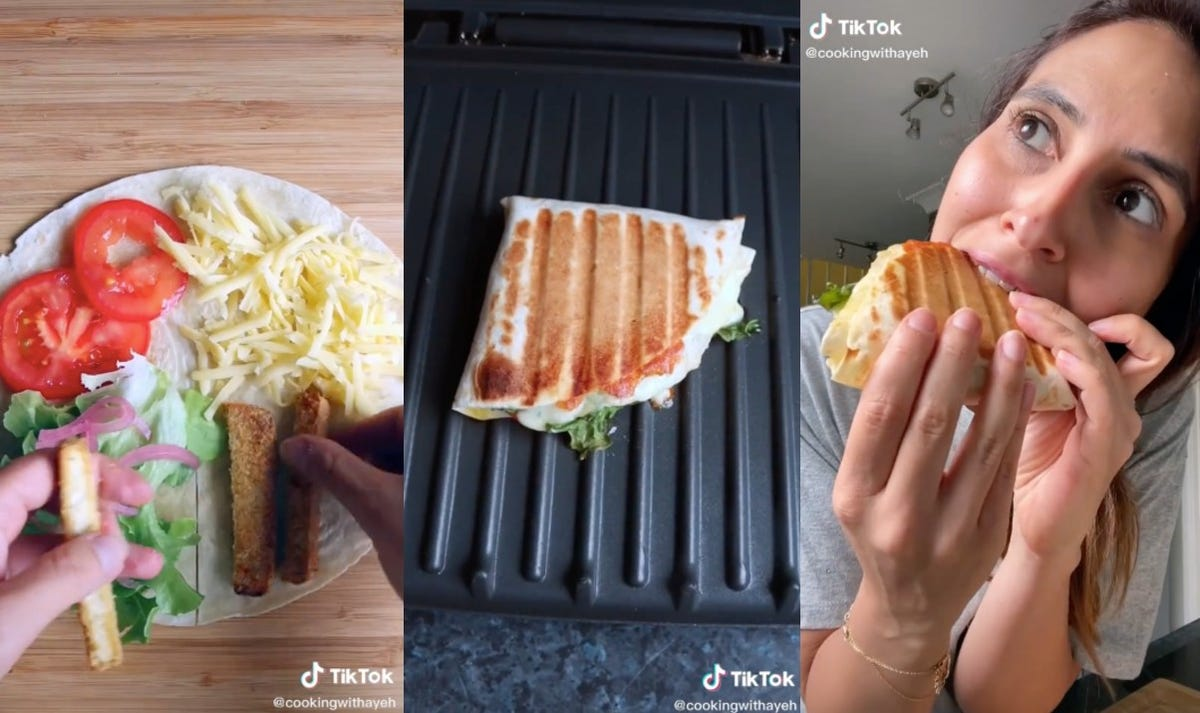 A viral hack shows how to make the perfect quesadilla.