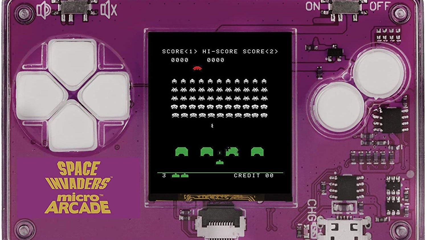 """""""Space Invaders"""" Micro Arcade game."""