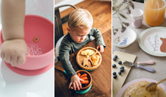 Teach Your Toddler to Eat Solids with These Adorable Dishes