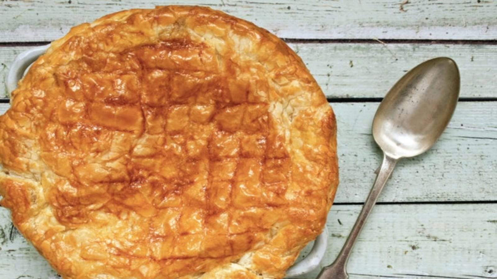 A beef and Guinness pie.