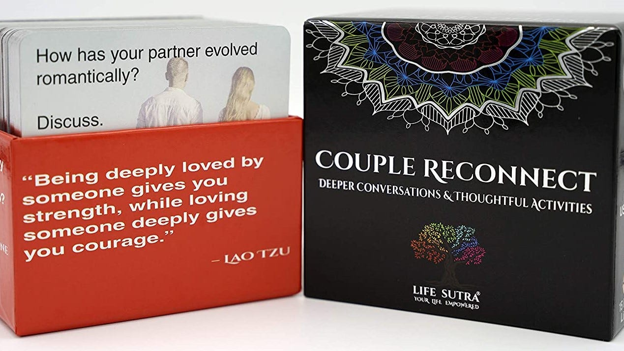 Couple Reconnect cards in the box.