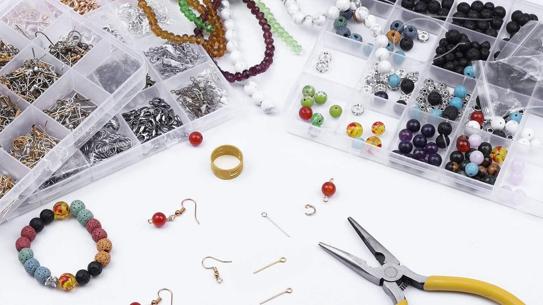 PAXCOO repair kit being used in jewelry making.