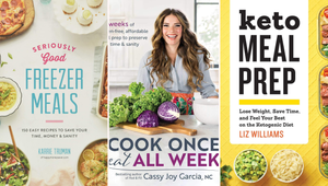 Save Time with These 9 Meal Prep Cookbooks