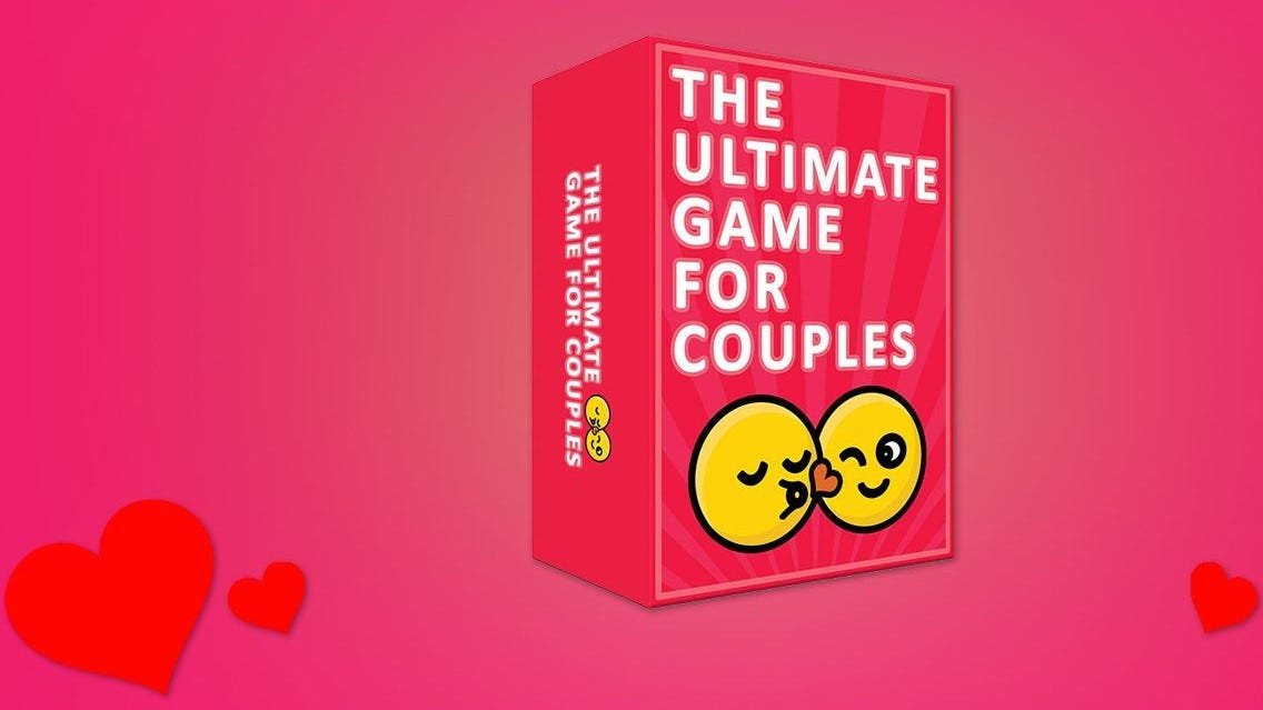 The Ultimate Game for Couples box.