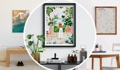 Ready to Redecorate? Try These Affordable & Unique Online Art Shops