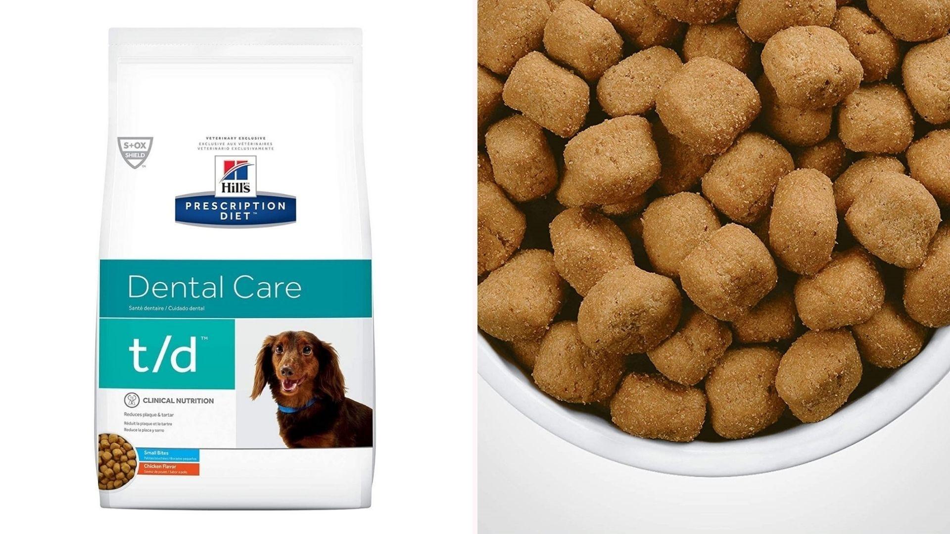 Hill's Prescription Diet dog food.