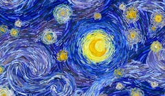 "Van Gogh's ""The Starry Night"" Is About to Get the LEGO Treatment"