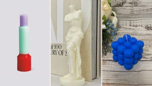 Sculptural Candles Are the Latest Quirky Décor Trend
