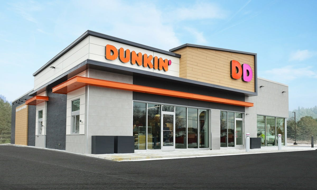A Dunkin' Donuts restaurant.