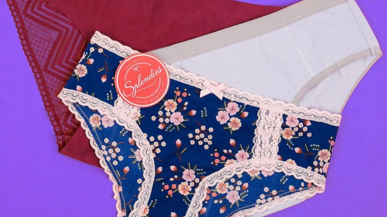 Three pairs of Splendies underwear.