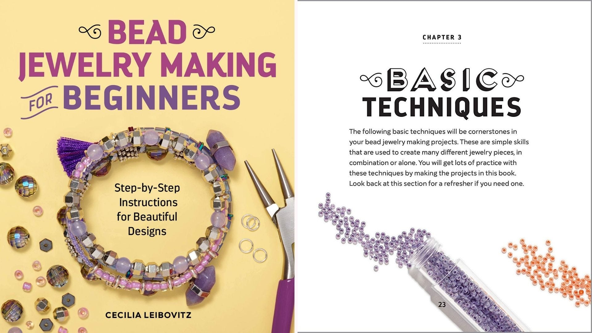 Bead and Jewelry Making for Beginners book