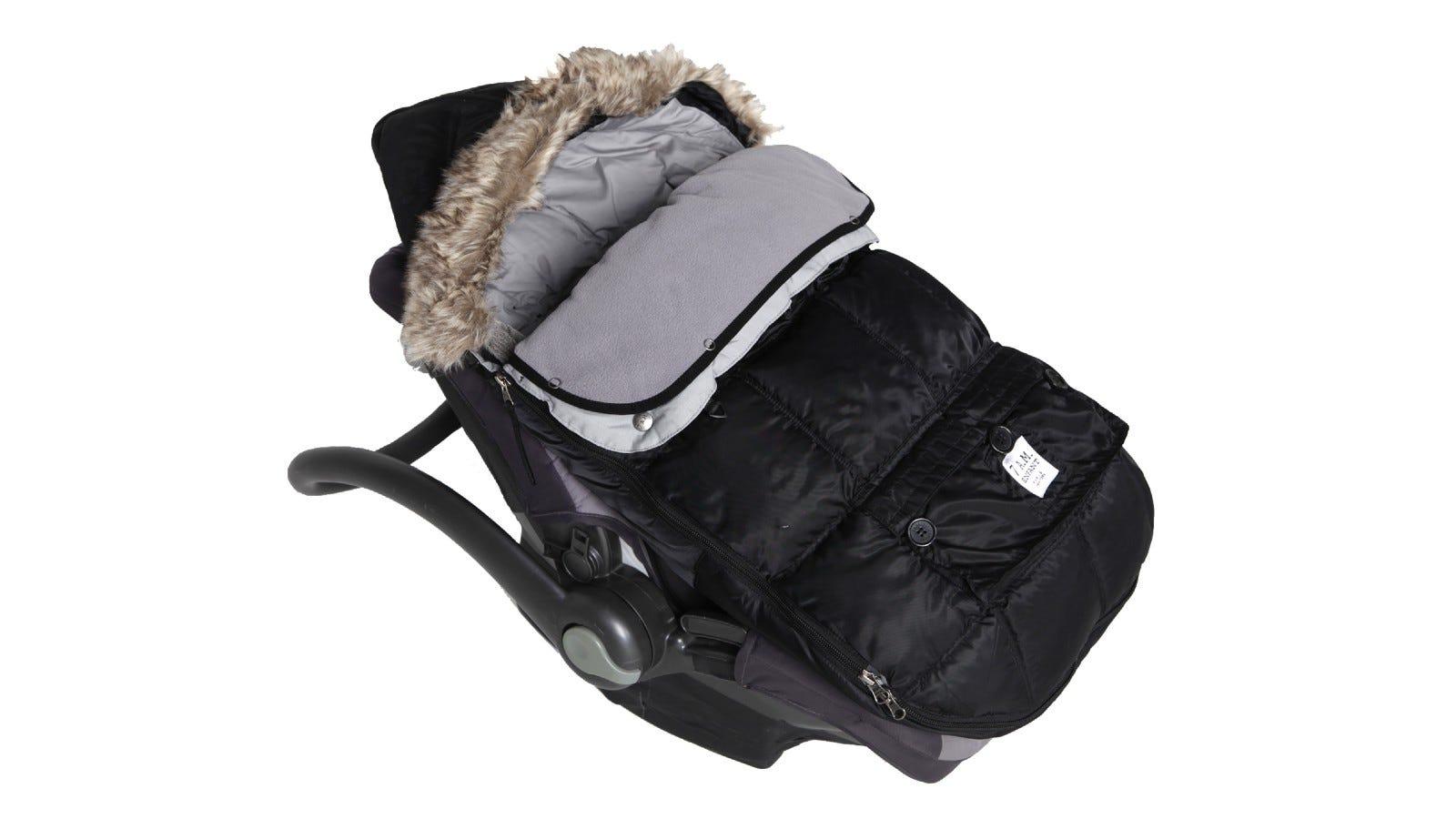 black car seat cover