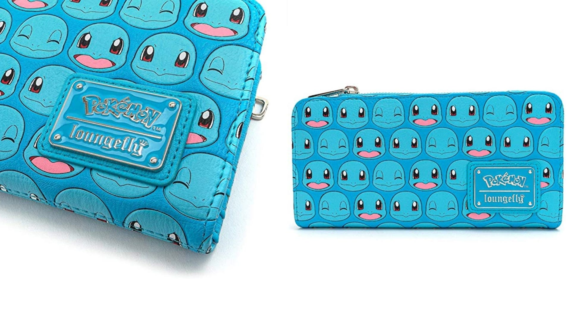 A blue Squirtle Pokemon wallet.