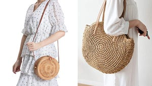 The Trendiest Straw Bags to Add to Your Closet