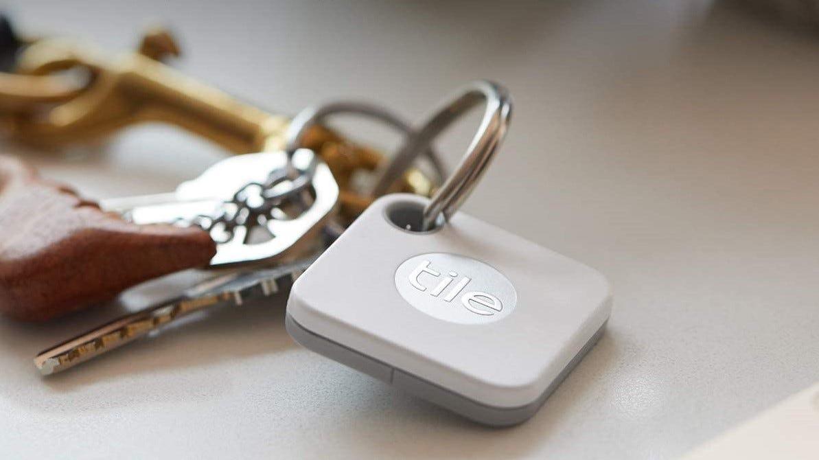 Tile key finder on a set of keys.