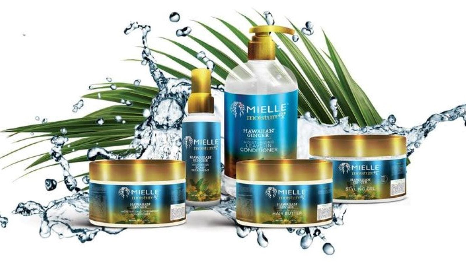 The complete line of Mielle Organics Hair products.