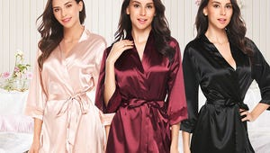 Women's Robes So Comfy You'll Never Take Them Off