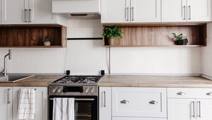 Spring Cleaning Day 2: Banish Cabinet and Backsplash Grime