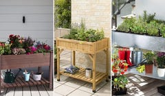 Garden While Standing with These 6 Table-Style Planters