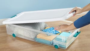 Choosing the Best Under-Bed Storage Containers