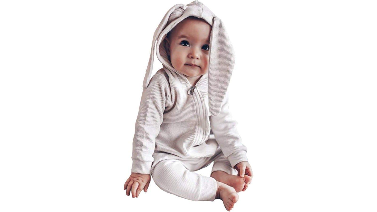pajamas with bunny ears