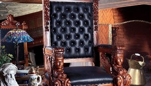 Envy-Worthy Throne Chairs to Make You Feel Like Royalty