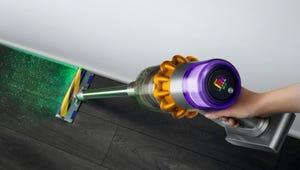 Dyson's New Vacuum Has a Laser