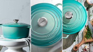 Le Creuset Launched a Cool Mint Collection for Spring
