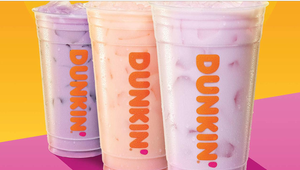Dunkin' Just Launched Three New Fruity Coconut Refreshers