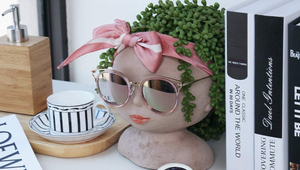 Spruce Up Your Living Space with These Head Planters