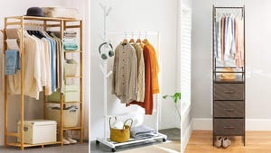 Closet Full? Add More Space with These 8 Clothing Racks