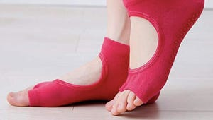 Yoga Socks for More Stable Workouts